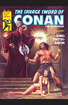 Savage Sword Of Conan (1974-1995) #43