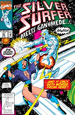 Silver Surfer (1987-1998) #81