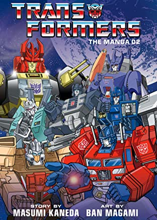 Transformers: The Manga Vol. 2