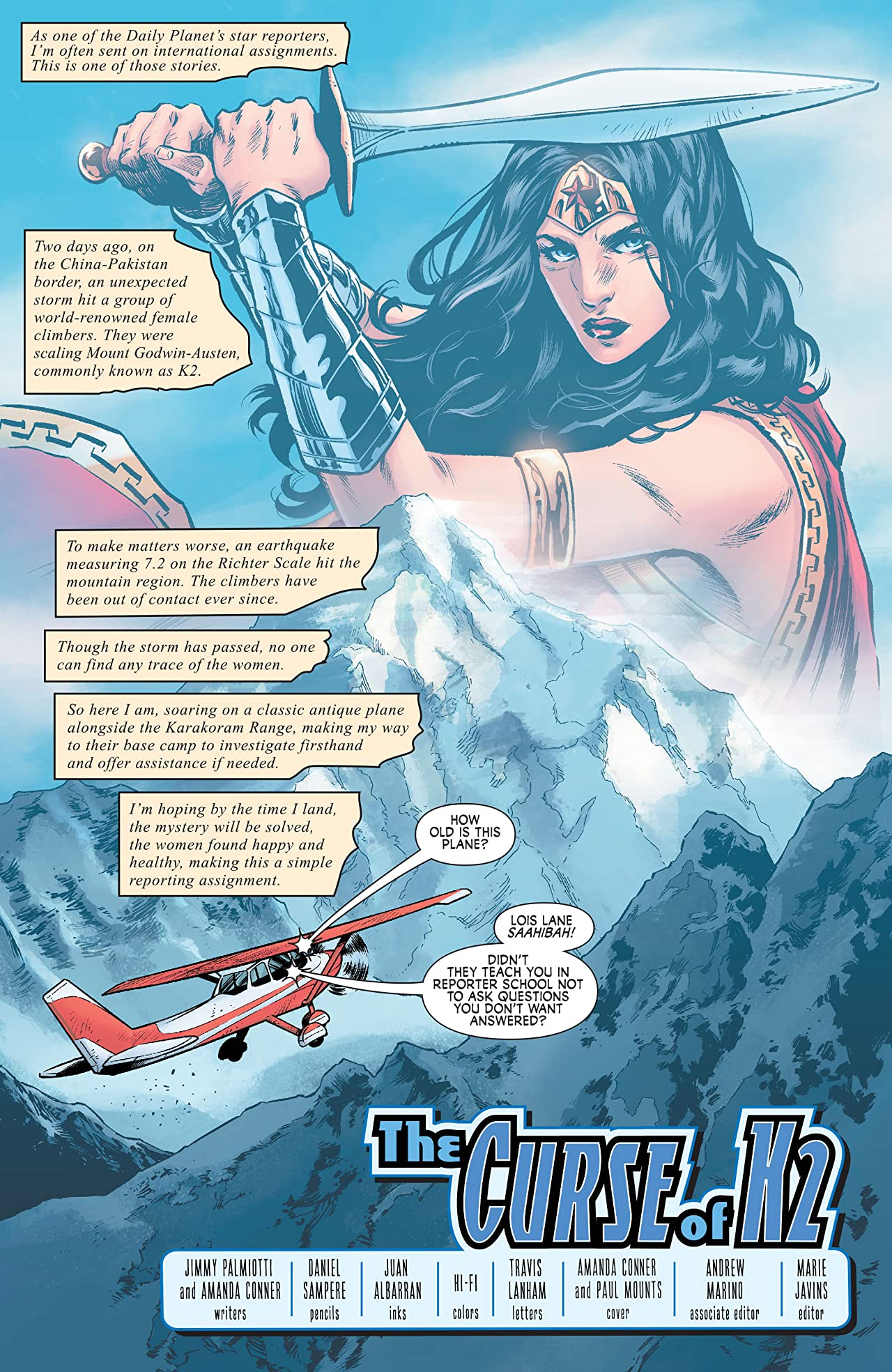 Wonder Woman: Agent of Peace #2