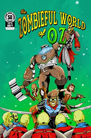 The Zombieful World of OZ #1