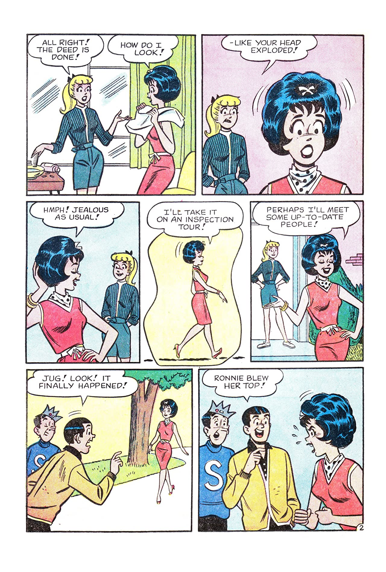 Archie's Girls Betty & Veronica #85