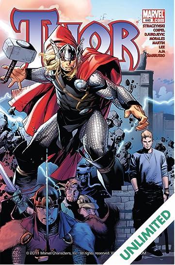 Thor (2007-2011) #600