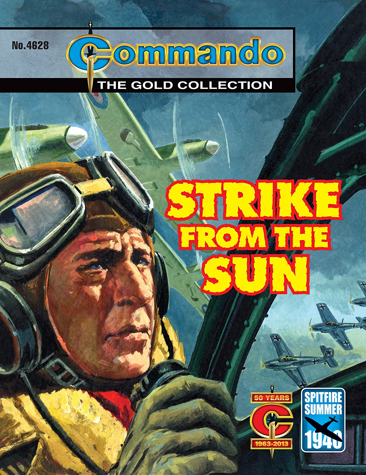 Commando #4628: Strike From The Sun