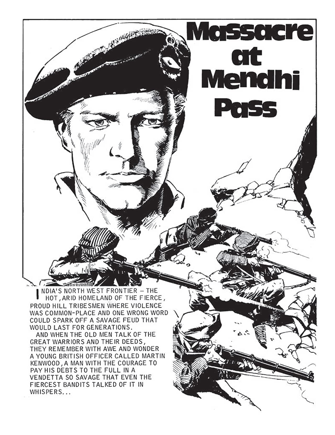 Commando #4630: Massacre At Mendhi Pass