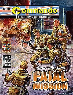 Commando #4631: Convict Commandos: Fatal Mission