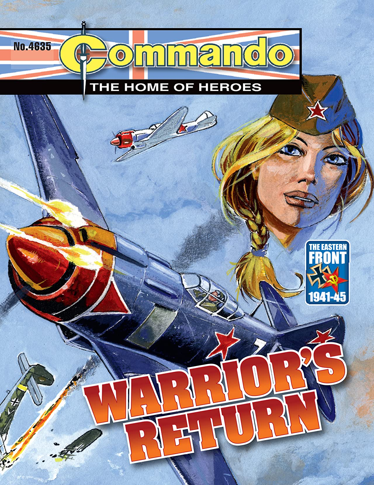 Commando #4635: Warrior's Return