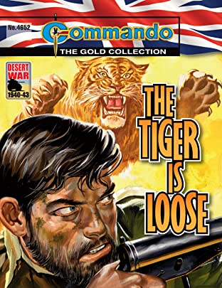 Commando #4652: The Tiger Is Loose