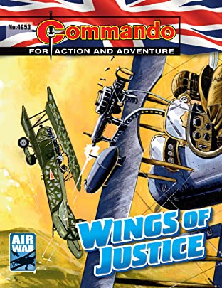 Commando #4653: Wings Of Justice