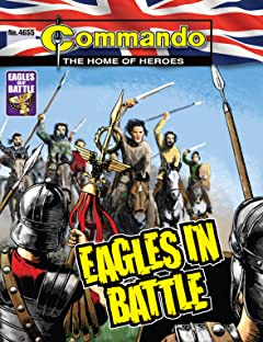 Commando #4655: Eagles In Battle
