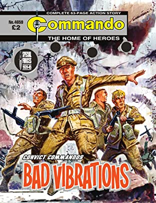 Commando No.4659: Convict Commandos: Bad Vibrations