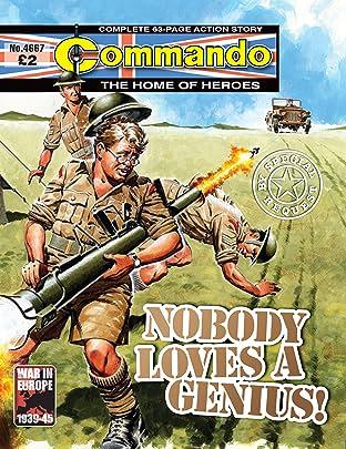 Commando #4667: Nobody Loves A Genius!