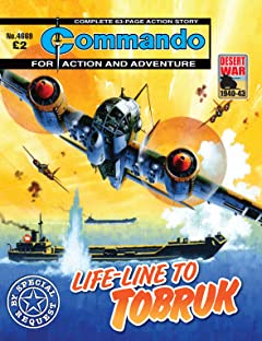 Commando No.4669: Life-Line To Tobruk