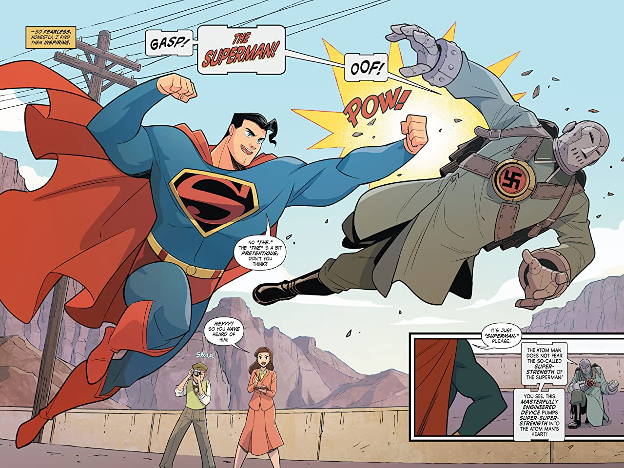 Superman Smashes the Klan (2019-2020)