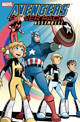 Avengers And Power Pack Assemble!