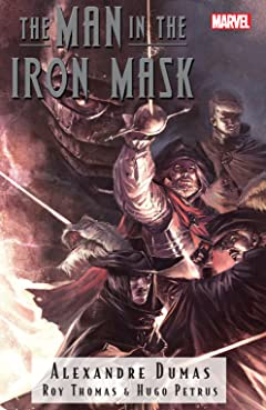 Marvel Illustrated: The Man In The Iron Mask
