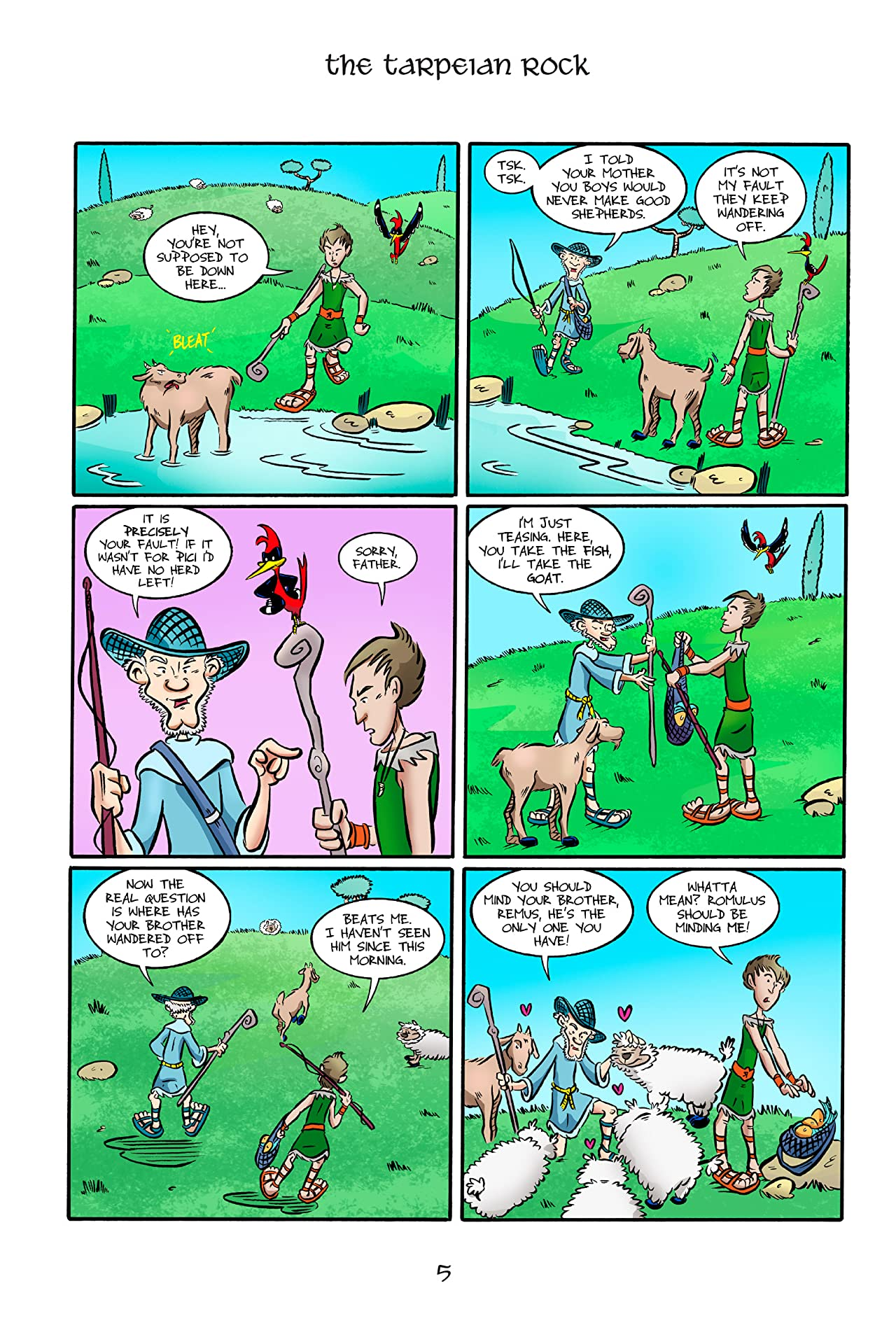 Kid Beowulf: The Tarpeian Rock #2