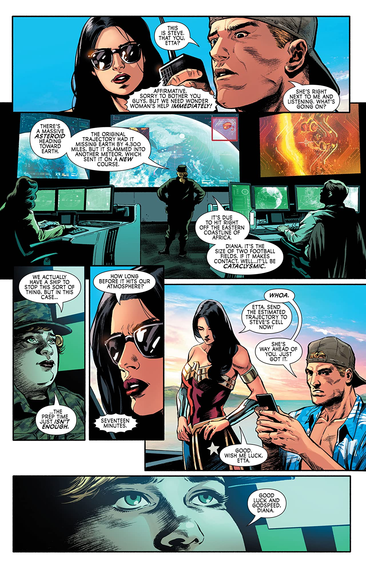 Wonder Woman: Agent of Peace #3
