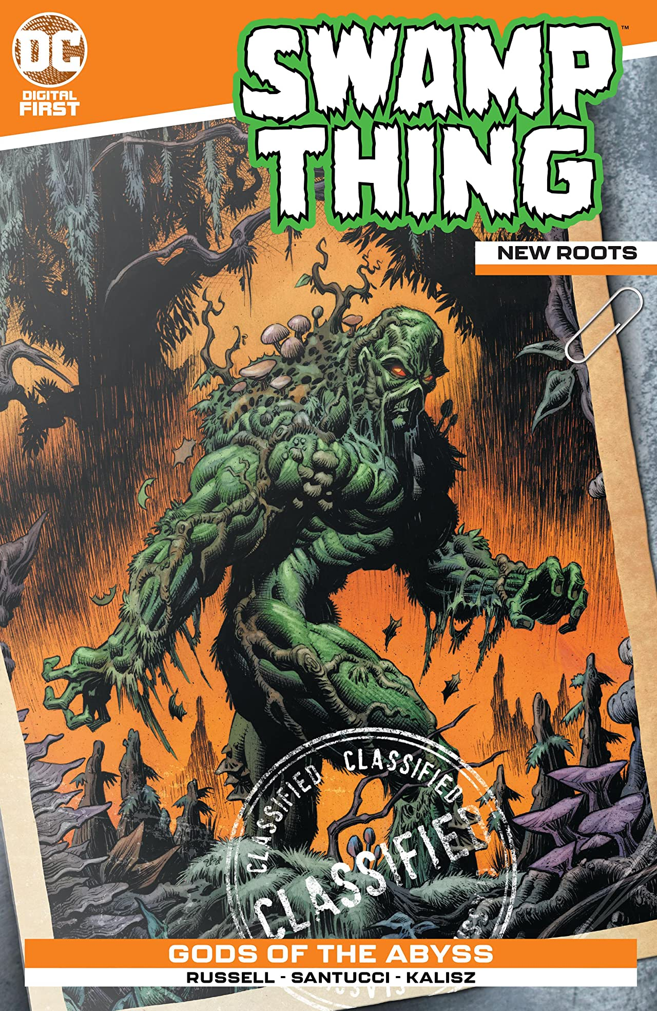 Swamp Thing: New Roots No.3