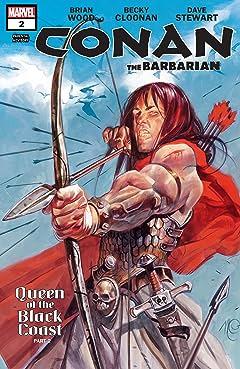 Conan The Barbarian (2012-2014) #2