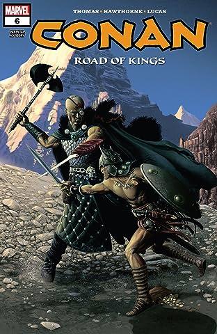 Conan: Road Of Kings (2011-2012) #6