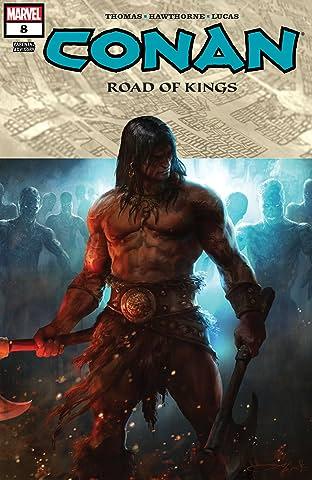 Conan: Road Of Kings (2011-2012) #8