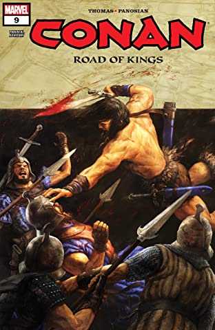 Conan: Road Of Kings (2011-2012) #9