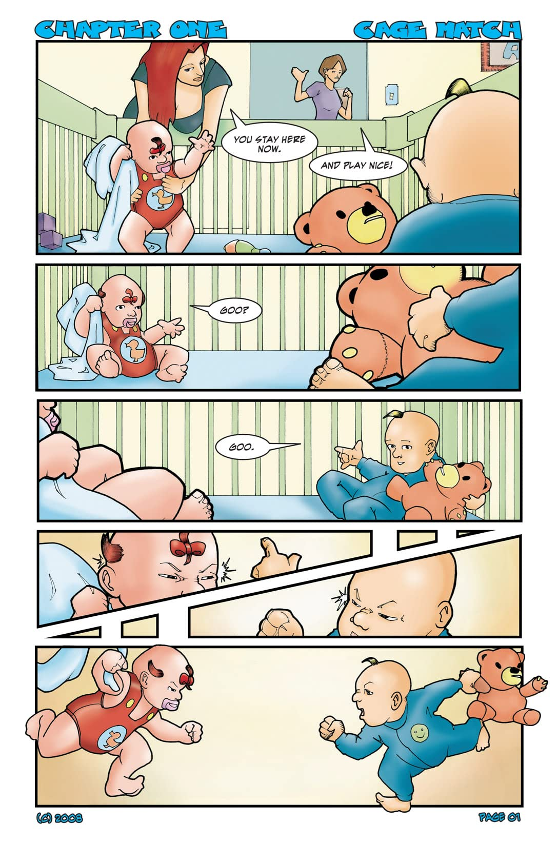 Baby Boomers #1: Preview