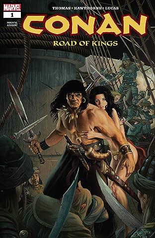 Conan: Road Of Kings (2011-2012) #1