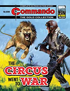 Commando #5336: The Circus Went To War