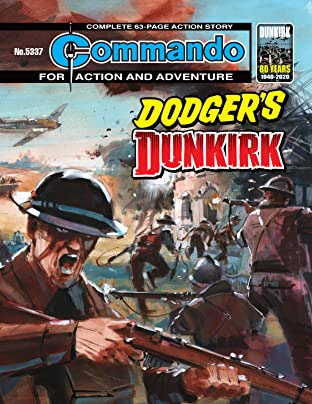 Commando No.5337: Dodger's Dunkirk