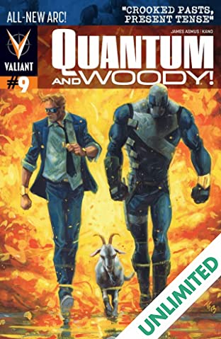 Quantum and Woody (2013- ) #9: Digital Exclusives Edition
