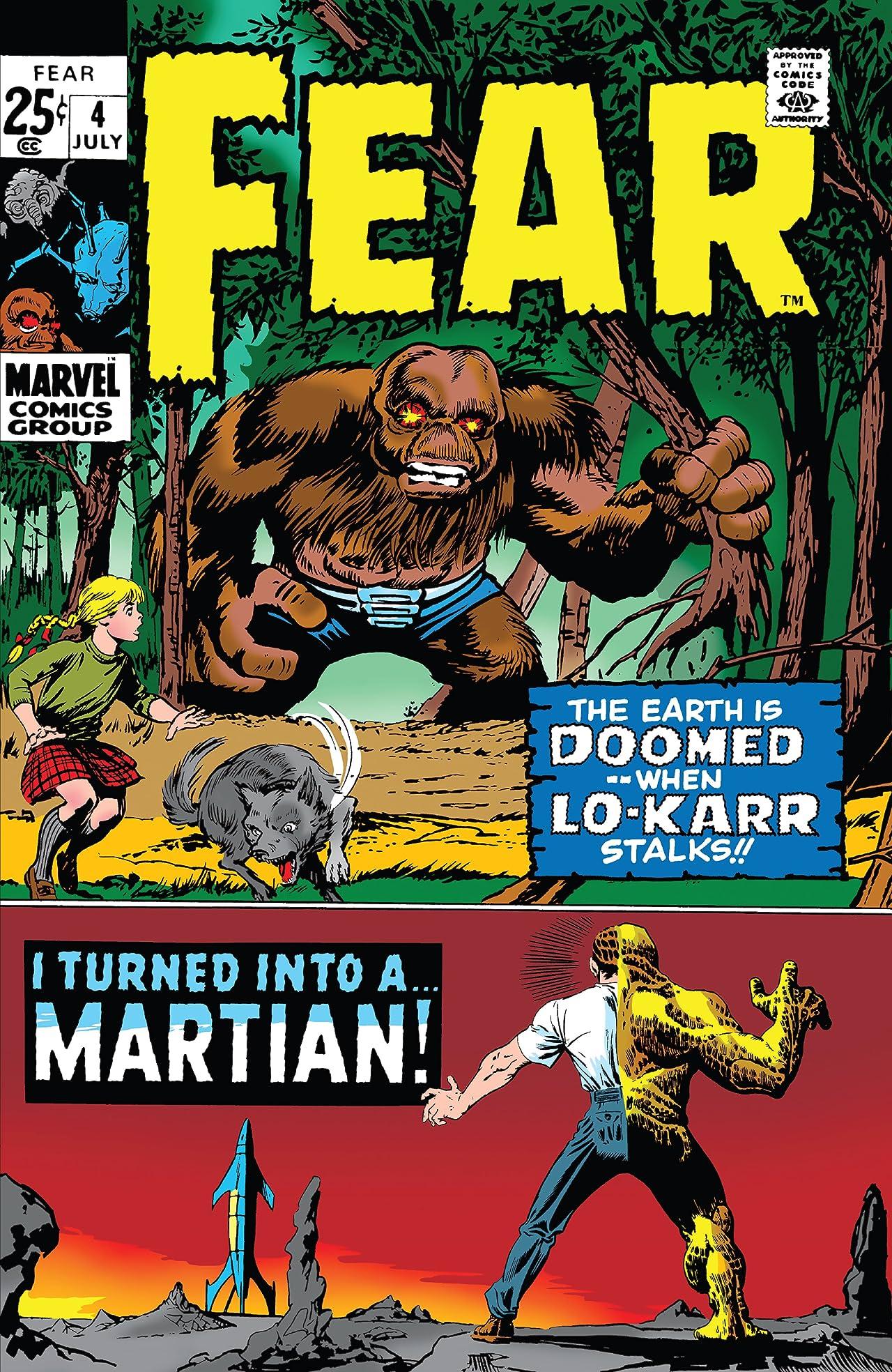Adventure Into Fear (1970-1975) #4