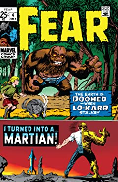 Adventure Into Fear (1970-1975) #4