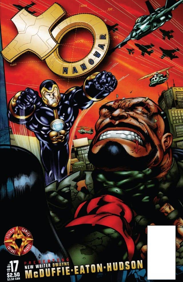 X-O Manowar (1996-1998) #17