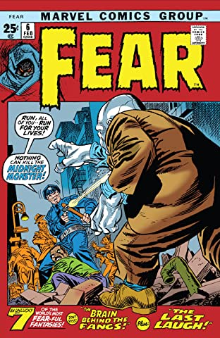 Adventure Into Fear (1970-1975) No.6