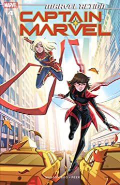 Marvel Action Captain Marvel (2019-) #4