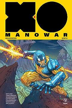 X-O Manowar by Matt Kindt Deluxe Edition Book 1 Vol. 1