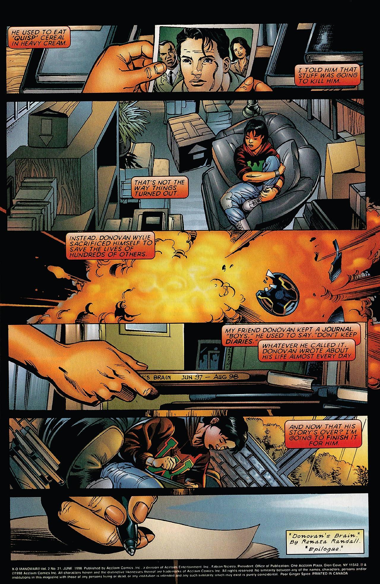 X-O Manowar (1996-1998) #21