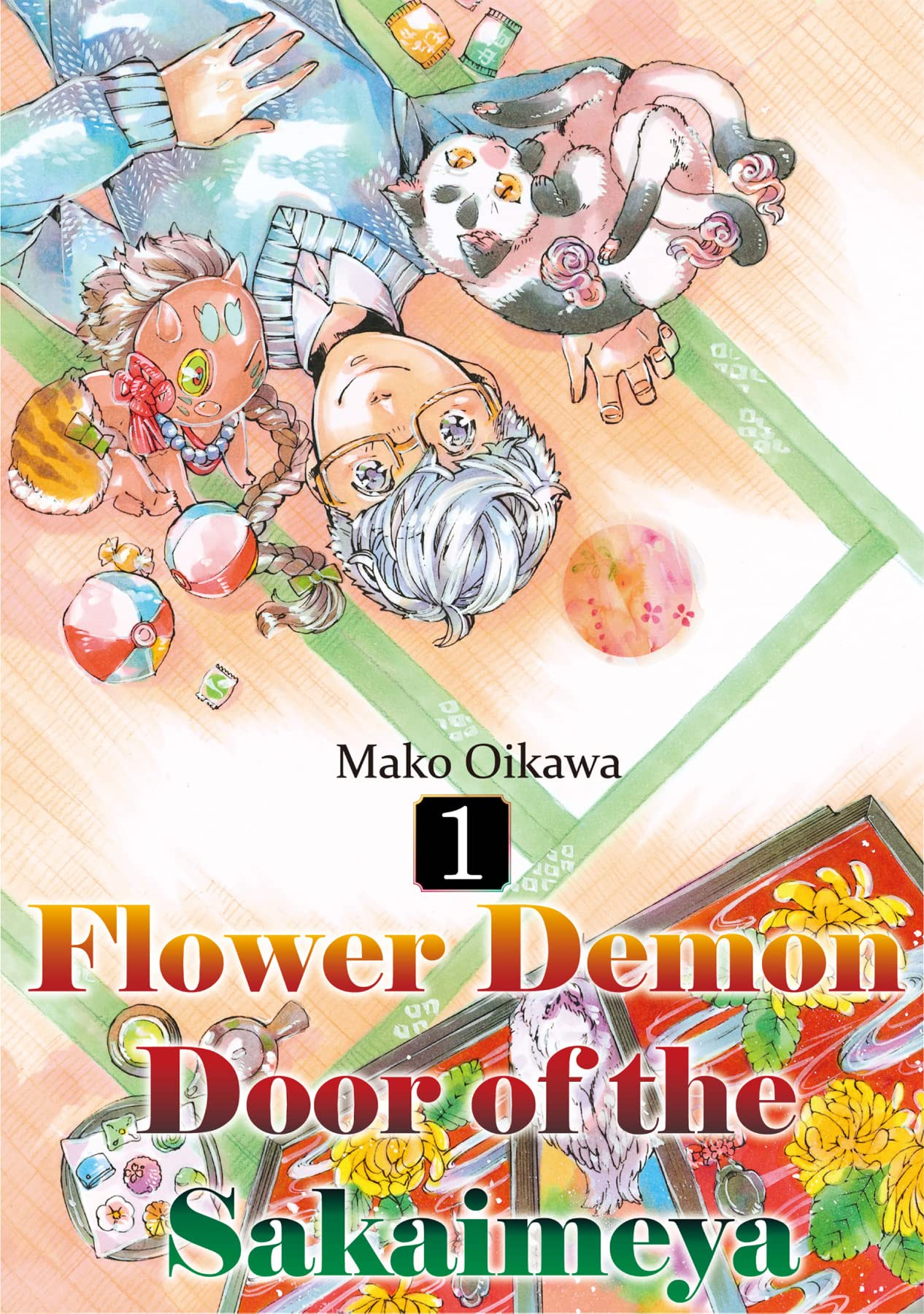 Flower Demon Door of the Sakaimeya Vol. 1