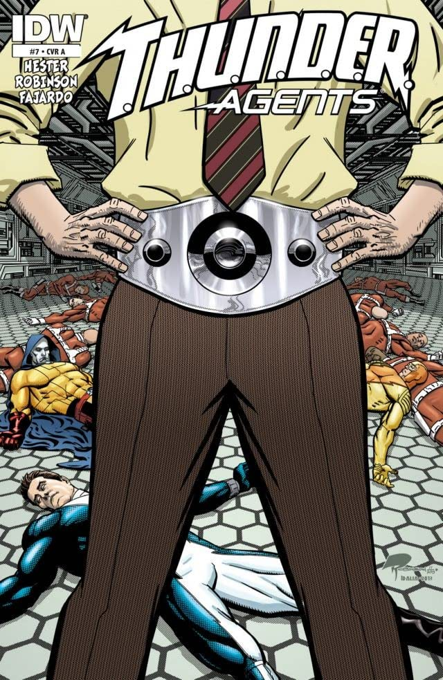 T.H.U.N.D.E.R. Agents #7
