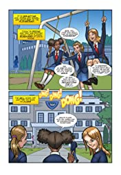 The Period Comic-Girls Easy Guide to Puberty & Periods .Age 9-15 Vol. 1: Girl's Easy Guide to Puberty & Periods