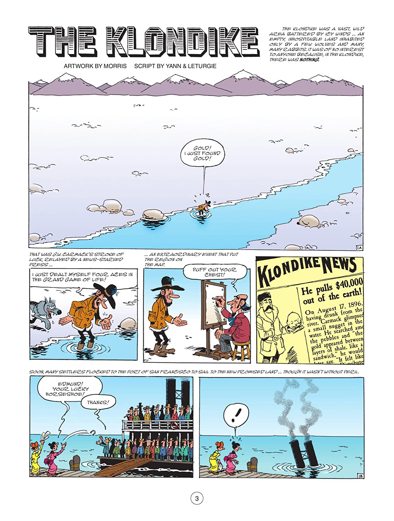 Lucky Luke Tome 74: The Klondike