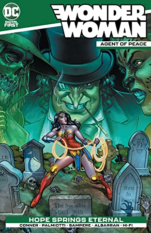 Wonder Woman: Agent of Peace No.4