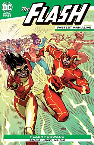 Flash: Fastest Man Alive No.4
