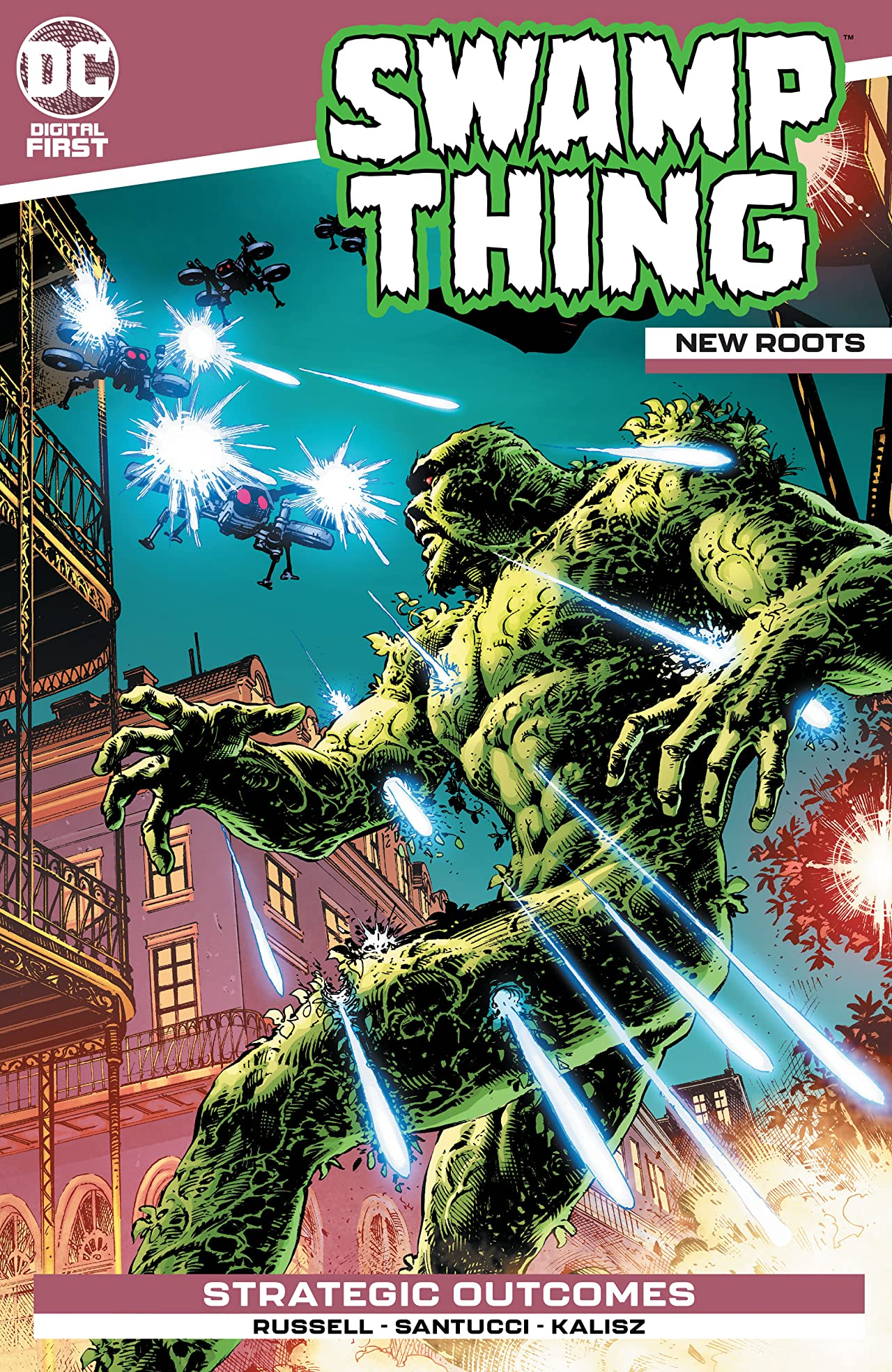 Swamp Thing: New Roots No.4