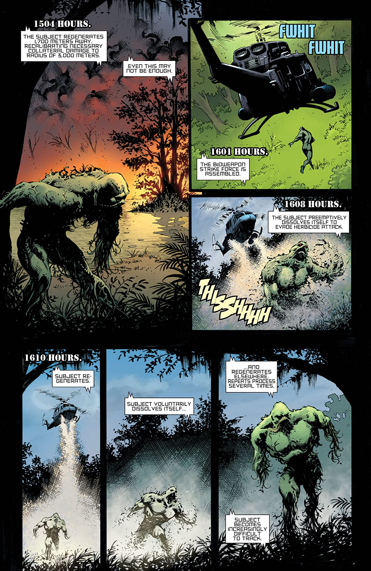 Swamp Thing: New Roots #4