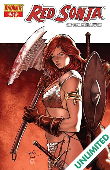 Red Sonja: She-Devil With a Sword #31