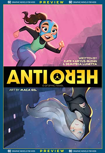DC Graphic Novels for Kids Sneak Peeks: Anti/Hero (2020-) #1