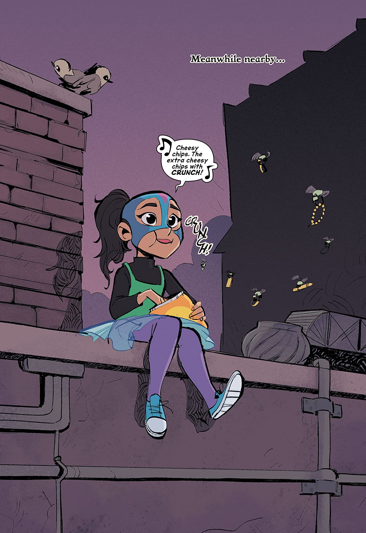 DC Graphic Novels for Kids Sneak Peeks: Anti/Hero (2020-) No.1